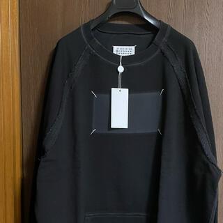 Maison Martin Margiela - 黒52新品 メゾン マルジェラ Memory 4ステッチ スウェット シャツ