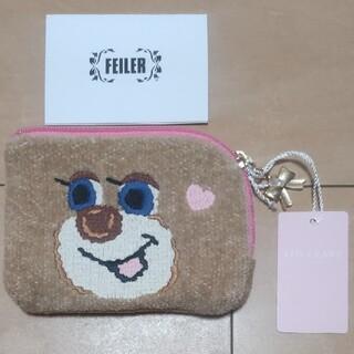 FEILER - 【新品】フェイラー ドアップテディガール L字ポーチ