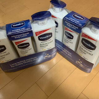 ヴァセリン(Vaseline)のヴァセリン アドバンスリペア ボディローション セット✖️2(ボディローション/ミルク)