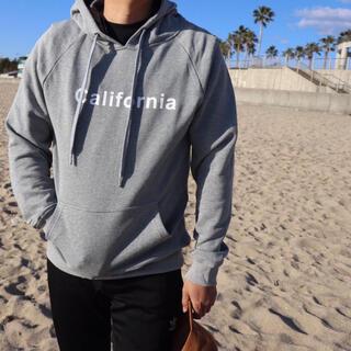ステューシー(STUSSY)のカップルコーデに☆ LUSSO SURF カリフォルニアパーカー グレー S(パーカー)