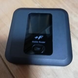 フジツウ(富士通)の富士ソフト +F FS030W SIMフリーモバイルルーター(PC周辺機器)