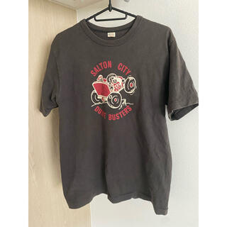 ウエアハウス(WAREHOUSE)の【美品】warehouse ウエアハウス ロゴ tシャツ アメカジ(Tシャツ/カットソー(半袖/袖なし))