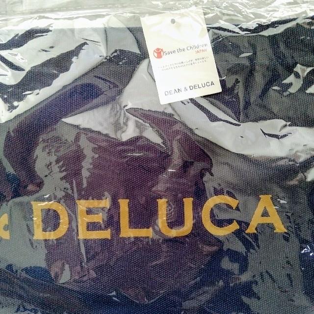 DEAN & DELUCA(ディーンアンドデルーカ)のDEAN&DELUCAトートバックMサイズ ネイビー レディースのバッグ(トートバッグ)の商品写真