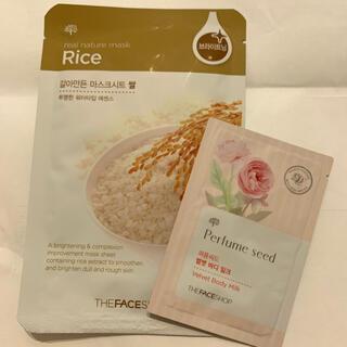 ザフェイスショップ(THE FACE SHOP)のザフェイスショップ Rice フェイスマスク/ボディミルク(パック/フェイスマスク)