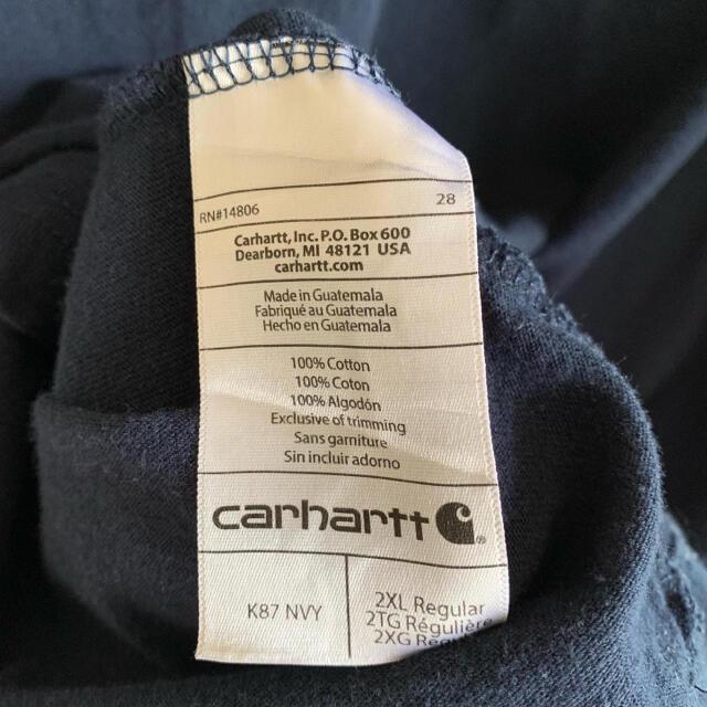 carhartt(カーハート)の90s Carhartt カーハート Tシャツ ポケット ワンポイント 菅田将暉 メンズのトップス(Tシャツ/カットソー(半袖/袖なし))の商品写真