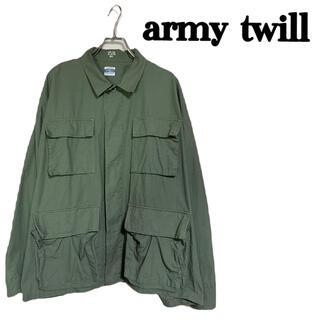 JOURNAL STANDARD - 【美品】army twill  フィールドジャケット シャツジャケット