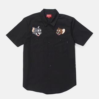 Supreme - Supreme Tom & Jerry S/S Work Shirt シュプ