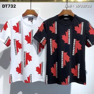 ディースクエアード(DSQUARED2)のDSQUARED2(#142)2枚9000 Tシャツ 半袖 M-3XLサイズ選択(その他)