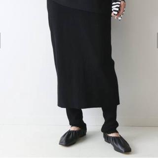 フレームワーク(FRAMeWORK)のFRAMeWORKフレームワーク レギンス一体スカート(ロングスカート)