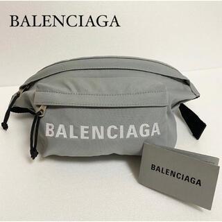 Balenciaga - バレンシアガ BALENCIAGA ベルトバッグ ボディバッグ グレー 男女兼用
