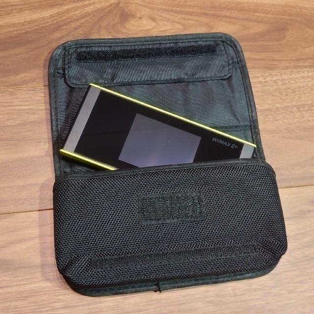 au(エーユー)のau W05 ポケットWi-Fi 楽天モバイル対応 スマホ/家電/カメラのスマートフォン/携帯電話(その他)の商品写真