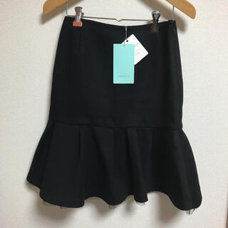 アクアガール(aquagirl)の【アクアガール】フレアスカート チュールスカート 新品未使用(ひざ丈スカート)