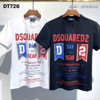ディースクエアード(DSQUARED2)のDSQUARED2(#145)2枚9000 Tシャツ 半袖 M-3XLサイズ選択(その他)
