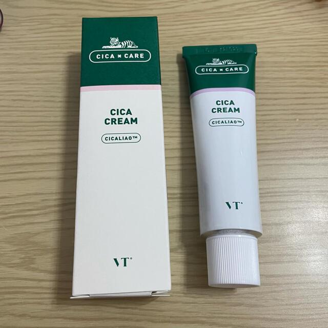 Dr. Jart+(ドクタージャルト)のシカクリーム VT  新品未使用 コスメ/美容のスキンケア/基礎化粧品(フェイスクリーム)の商品写真