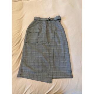 エージーバイアクアガール(AG by aquagirl)のAG by aquagirl チェックタイトスカート(ひざ丈スカート)