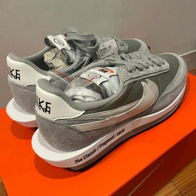 NIKE(ナイキ)のNIKE x SACAI x FRAGMENT LD WAFFLE 27.5cm メンズの靴/シューズ(スニーカー)の商品写真