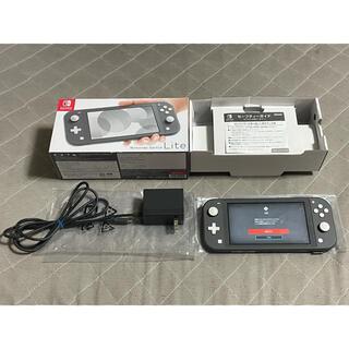 Nintendo Switch - NINTENDO SWITCH LITE グレー 比較的美品