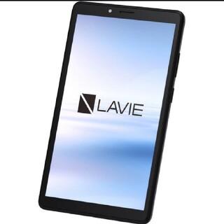 エヌイーシー(NEC)のNEC Lavie T7 7型タブレット32GB グレー PC-T0755CAS(タブレット)