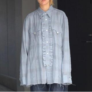 【DAIRIKU21aw】ダイリク Check Shirt シャツ