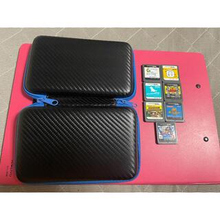 ニンテンドウ(任天堂)の3DS LL ケース DS ソフト7点(携帯用ゲームソフト)