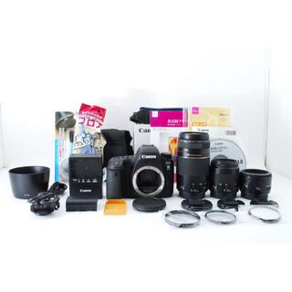 Canon - Canon EOS 6D mark II標準&望遠&単焦点トリプルレンズセット