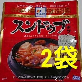 コストコ(コストコ)のスンドゥブチゲ 2袋(レトルト食品)