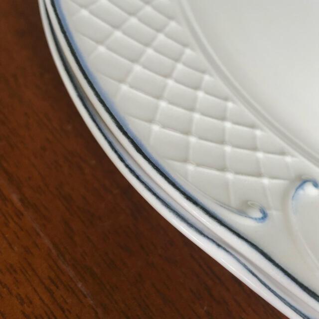 ビレロイ&ボッホ(ビレロイアンドボッホ)の【ドイツビンテージ】ビレロイ&ボッホ★Val Blue★デザート皿 2枚 インテリア/住まい/日用品のキッチン/食器(食器)の商品写真