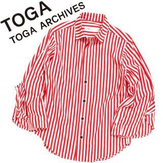 TOGA - TOGA フレアスリーブシャツ トーガ ワイドスリーブ