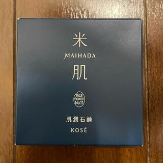 KOSE - 米肌 肌潤石鹸 80g