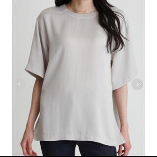 Mila Owen - MilaOwen♡Tシャツライクサテンブラウス