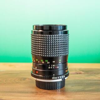 コニカミノルタ(KONICA MINOLTA)の【上美品】MC tele Rokkor QD135mm f3.5 綺麗な中望遠(レンズ(単焦点))
