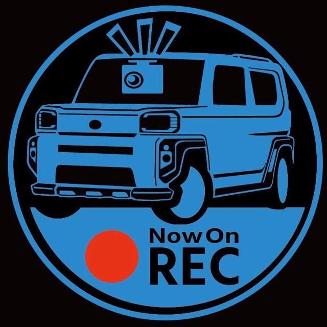 カラー 車種変更可能 ダイハツ タフト ドライブレコーダー ドラレコ ステッカー 自動車/バイクの自動車(セキュリティ)の商品写真