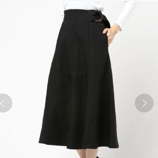 マウジー(moussy)のⅠ マウジー 未使用タグ付き フレア スカート(ロングスカート)