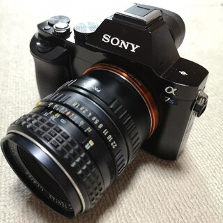 SONY - SONY α7s 極美品ショット数570バッテリー3個オマケレンズ付