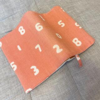 ソウソウ(SOU・SOU)のブックカバー SOU・SOU 文庫本サイズ 素数 ピンク(ブックカバー)