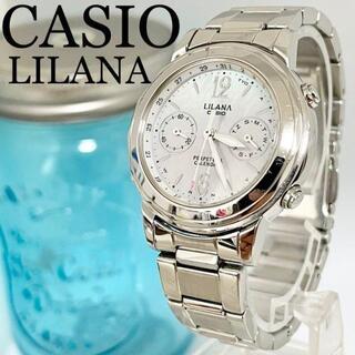 カシオ(CASIO)の166 CASIO LILANA リラーナ時計 レディース腕時計 電波ソーラー(腕時計)