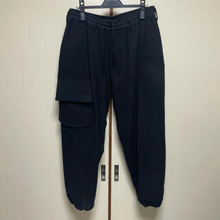 ヨウジヤマモト(Yohji Yamamoto)の18AW レギュレーション ヨウジヤマモト 裾リブウールカシミヤイージーパンツ(スラックス)