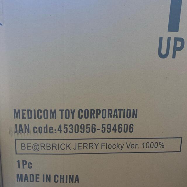 MEDICOM TOY(メディコムトイ)のBE@RBRICK JERRY フロッキー Ver. 1000% エンタメ/ホビーのフィギュア(その他)の商品写真