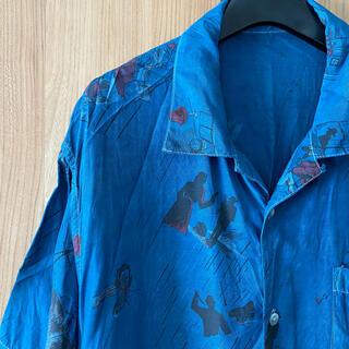 ポーター(PORTER)の【藍染め加工】希少一点モノ ポータークラシック 18SS アロハシャツ (シャツ)
