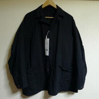 COMOLI - COMOLI 21AW デニム ワークジャケット ブラック