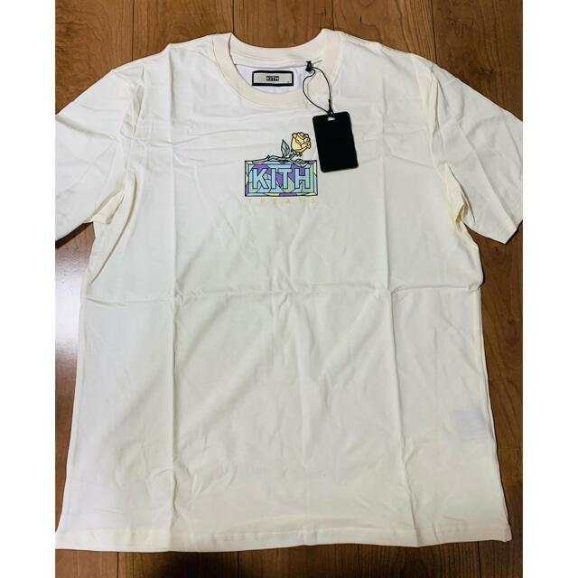 Supreme(シュプリーム)のkith rose Tシャツ Lサイズ メンズのトップス(Tシャツ/カットソー(半袖/袖なし))の商品写真