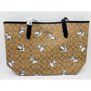 COACH - COACH SNOOPY コラボ トートバッグ