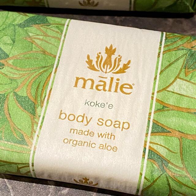 Malie Organics(マリエオーガニクス)の新品 ハワイブランド Malie ボディソープ 石鹸 コスメ/美容のボディケア(ボディソープ/石鹸)の商品写真