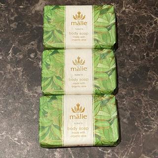 マリエオーガニクス(Malie Organics)の新品 ハワイブランド Malie ボディソープ 石鹸(ボディソープ/石鹸)