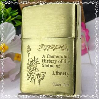 ZIPPO - №694 ZIPPO 自由の女神 真鍮無垢 ジッポー【I 04】