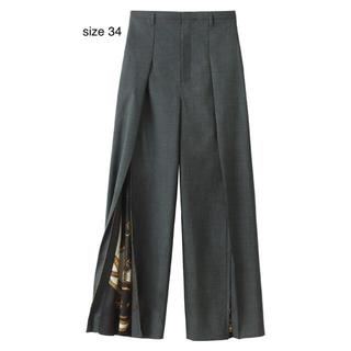 H&M - TOGA H&M ジップレッグワイドパンツ サイズ34