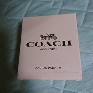 コーチ(COACH)のCOACH   コーチ   オードパルファム   30ml   箱のみ(香水(女性用))