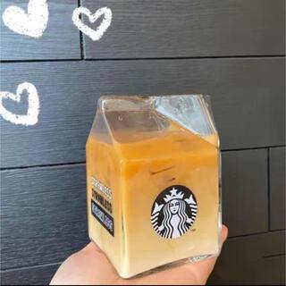 スターバックスコーヒー(Starbucks Coffee)のスターバックス 牛乳マグカップ ガラスタンブラー 海外限定 インスタ映え(タンブラー)