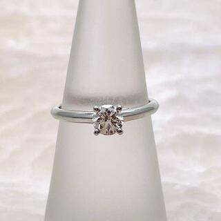 デビアス(DE BEERS)の★DE BEERS★ フォーエバーダイヤモンド 婚約指輪 D0.40ct(リング(指輪))