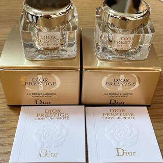 ディオール(Dior)のDior ディオール プレステージ ホワイト ラ クレーム ルミエール (フェイスクリーム)